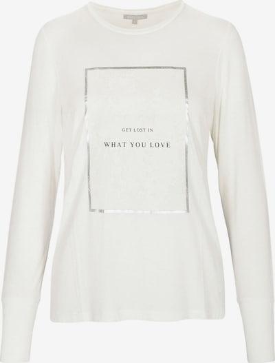 BASEFIELD Shirt 'Nele' in schwarz / silber / offwhite, Produktansicht