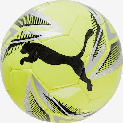 PUMA Fußball 'CAT' in gelb / schwarz / silber, Produktansicht