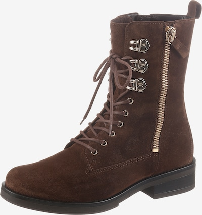 GABOR Lace-Up Ankle Boots in Dark brown, Item view
