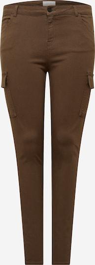 Noisy May Curve Pantalon cargo en marron, Vue avec produit
