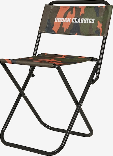 Urban Classics Campingstuhl in grün / orange, Produktansicht