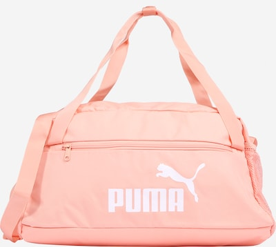 PUMA Sports bag in apricot / white, Item view