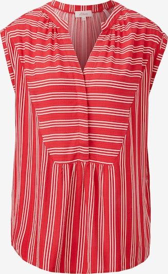 s.Oliver Blouse in de kleur Rood / Wit, Productweergave