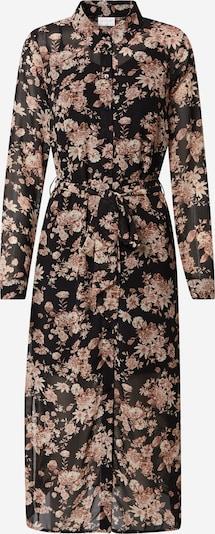 VILA Kleid 'VINDI' in altrosa / schwarz, Produktansicht