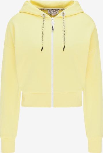 myMo ATHLSR Sweatvest in de kleur Geel, Productweergave