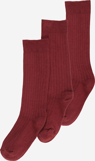 mp Denmark Socks in bordeaux, Item view