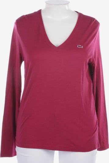 LACOSTE Shirt langarm in XXL in rosé, Produktansicht