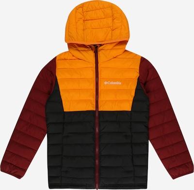 COLUMBIA Zunanja jakna | oranžna / temno rdeča / črna barva, Prikaz izdelka