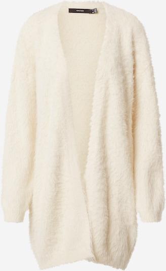 VERO MODA Gebreid vest 'Poilu ' in de kleur Sand, Productweergave