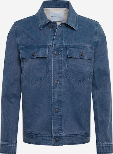 Samsoe Samsoe Tussenjas in de kleur Donkerblauw, Productweergave
