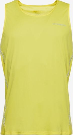 Superdry Functioneel shirt in de kleur Neongeel, Productweergave