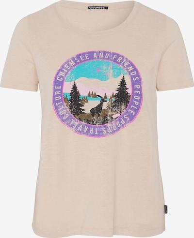 CHIEMSEE Functioneel shirt 'Sangaj' in de kleur Beige, Productweergave