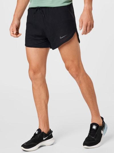 Sportinės kelnės 'Pinnacle' iš NIKE, spalva – juoda, Modelio vaizdas