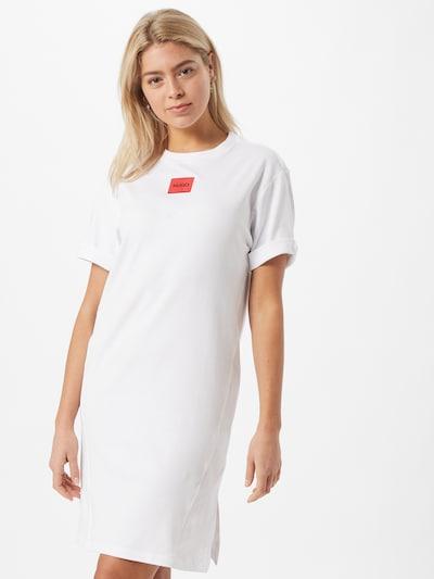Rochie 'Neyle' HUGO pe roșu / alb, Vizualizare model