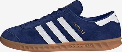 ADIDAS ORIGINALS Zemie brīvā laika apavi 'Hamburg', krāsa - zils / balts, Preces skats