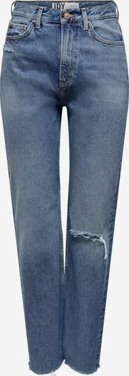 JDY Raw Flared Jeans in blue denim, Produktansicht