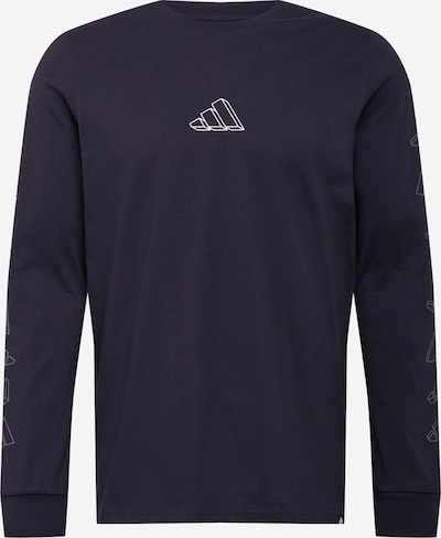 ADIDAS PERFORMANCE Koszulka funkcyjna 'Repeat' w kolorze czarny / białym, Podgląd produktu