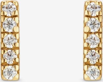 QOOQI Ohrringe in gold, Produktansicht