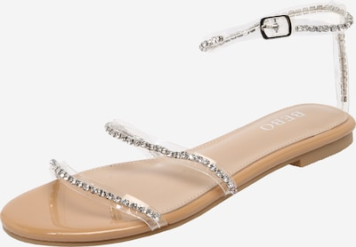 BEBO Strap sandal 'MANTRA' in Nude / Transparent, Item view
