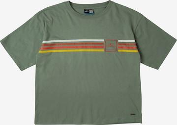 O'NEILL T-Shirt 'Rainbow' in Grün