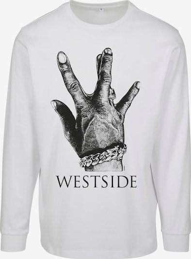 Mister Tee T-Shirt 'Westside Connection 2.0' en noir / blanc, Vue avec produit