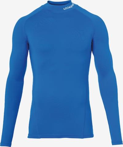 UHLSPORT Unterhemd in blau / weiß, Produktansicht