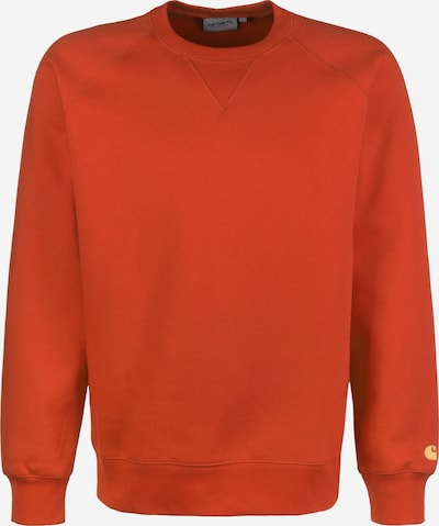 Carhartt WIP Sweater ' Chase ' in orange, Produktansicht