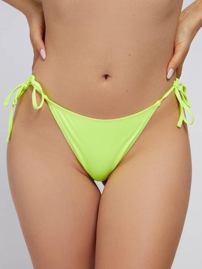 GUESS Bikinihose in neongelb, Modelansicht