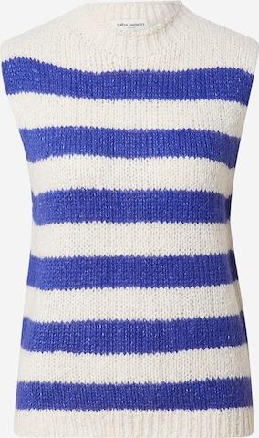 Lollys Laundry Pullover 'Rosa' in Blau