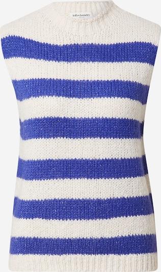 Lollys Laundry Džemperis 'Rosa', krāsa - karaliski zils / balts, Preces skats