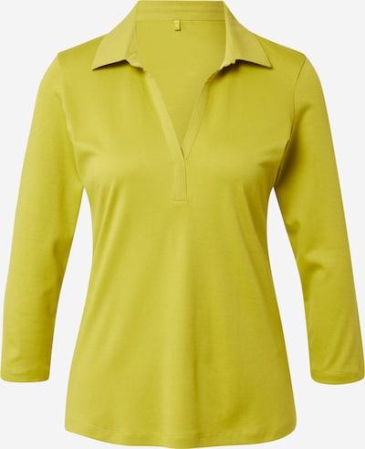 GERRY WEBER Shirt in de kleur Geel, Productweergave