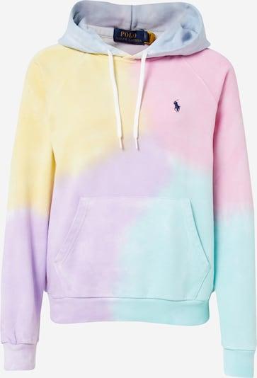 POLO RALPH LAUREN Sweatshirt in hellgelb / hellgrün / helllila / mischfarben / hellpink, Produktansicht