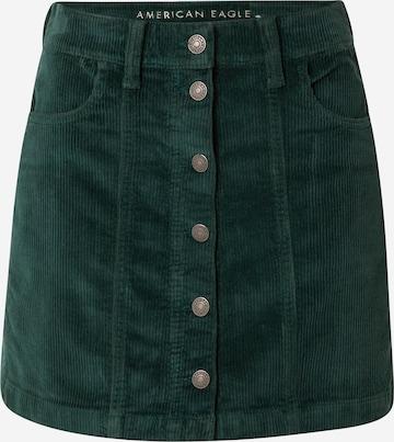 American Eagle Skirt 'ALINE' in Green