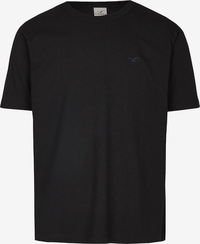 Cleptomanicx Oldschool Tee Ligull Heavy in schwarz, Produktansicht