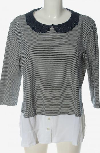 JONES Schlupf-Bluse in XL in schwarz / weiß, Produktansicht