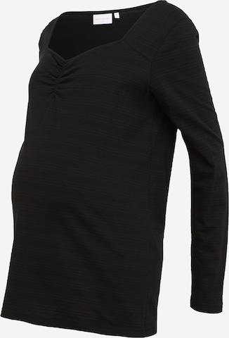 T-shirt 'Elly' MAMALICIOUS en noir