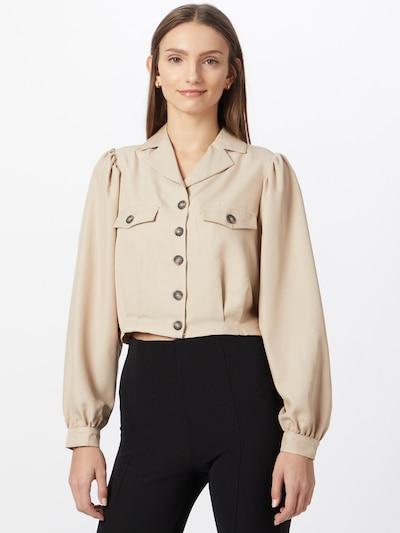 minimum Bluse 'Poliana' in puder, Modelansicht