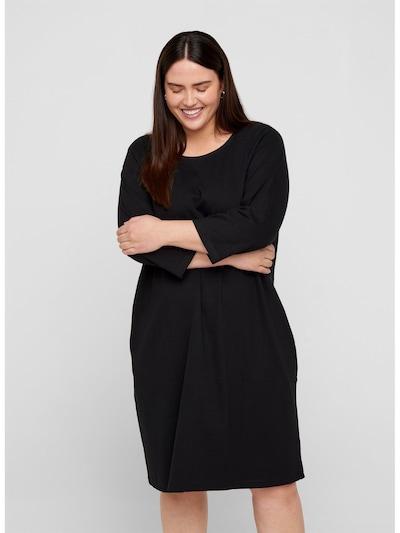 Zizzi Kleid 'Lona' in schwarz, Modelansicht