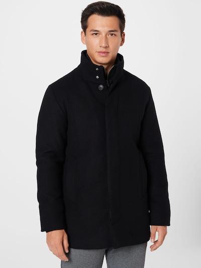 JACK & JONES Ανοιξιάτικο και φθινοπωρινό παλτό 'DUNHAM' σε μαύρο, Άποψη μοντέλου