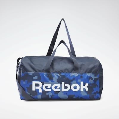 REEBOK Sporttas in de kleur Navy / Smoky blue / Royal blue/koningsblauw / Wit, Productweergave
