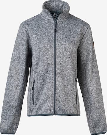 Whistler Athletic Fleece Jacket 'SAMANI W' in Grey
