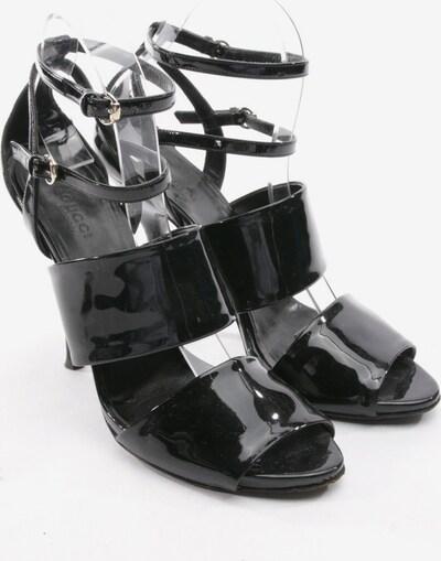 Gucci Sandaletten in 38,5 in schwarz, Produktansicht