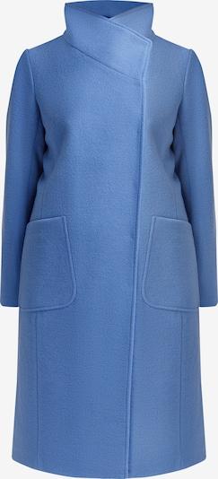 Finn Flare Wollmantel mit schönem Kragen in blau, Produktansicht