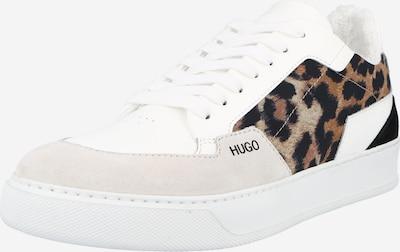 Sneaker bassa HUGO di colore beige / marrone / rosé / nero / offwhite, Visualizzazione prodotti