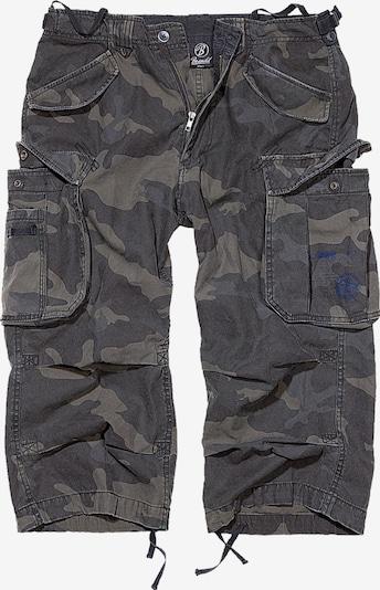 Brandit Shorts in grau / dunkelgrau, Produktansicht
