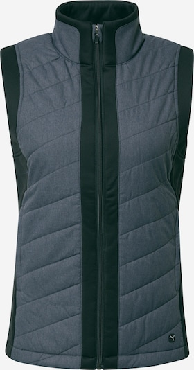 PUMA Sports vest in mottled grey / Black, Item view