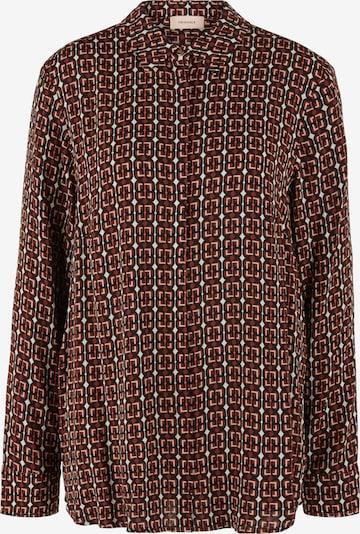 TRIANGLE Bluse in braun, Produktansicht