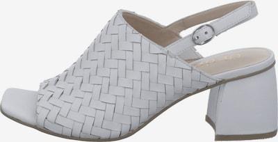 GERRY WEBER SHOES Slingpumps 'Gsabrina' in weiß, Produktansicht