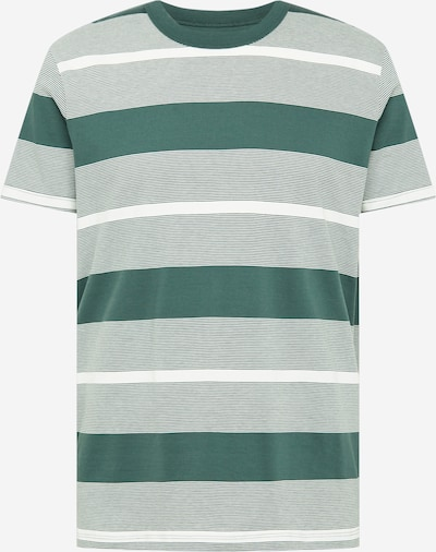ESPRIT Tričko - tmavě zelená / bílá, Produkt
