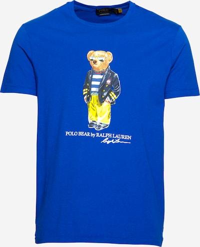 Tricou POLO RALPH LAUREN pe bleumarin / albastru închis / maro / galben / roșu, Vizualizare produs
